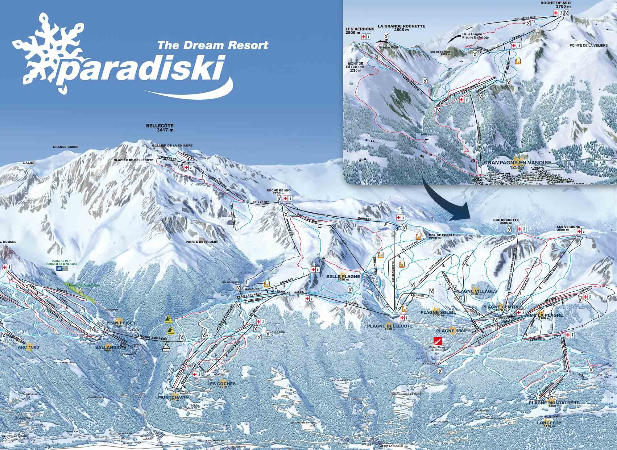 Favourite Thing About La Plagne Oxygne Ski Snowboard School