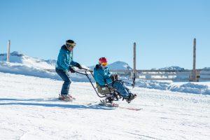 taxi ski la plagne oxygene ski school