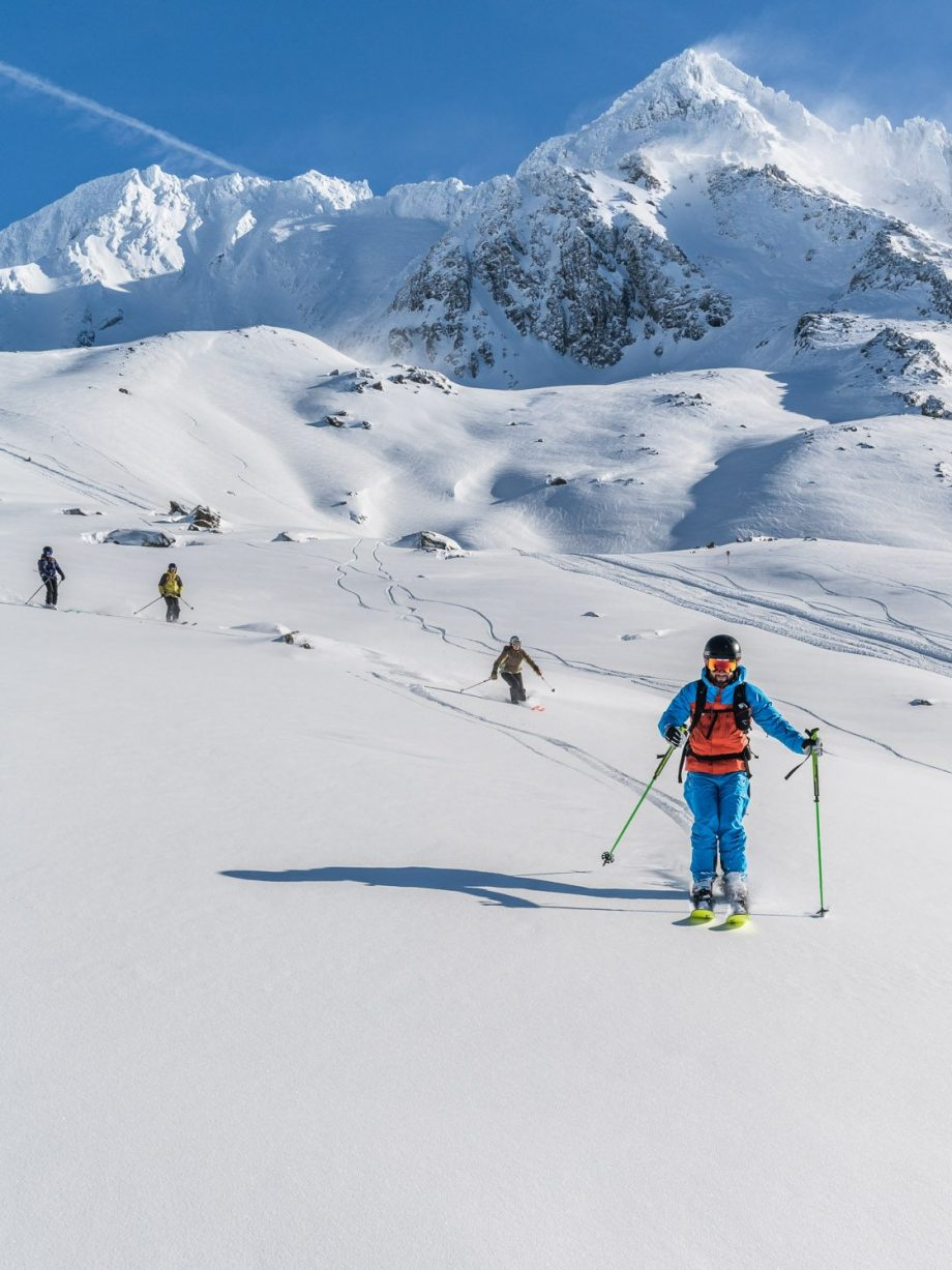 Join Oxygene's off-piste sessions.
