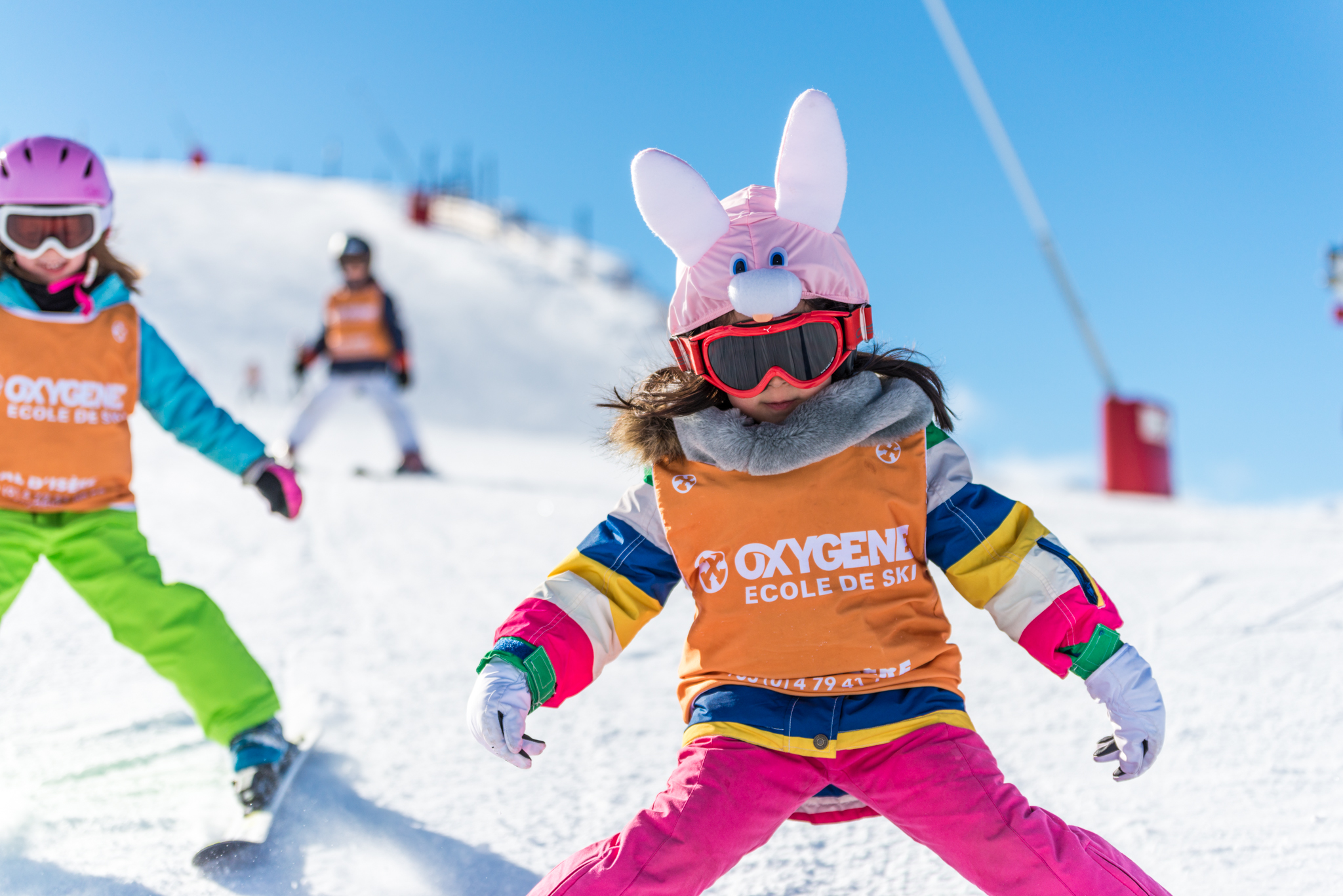 Children Group Ski Lessons in Val d'Isere