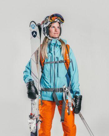 Oxygène Ski & Snowboard School Lady Off-Piste Skier 2
