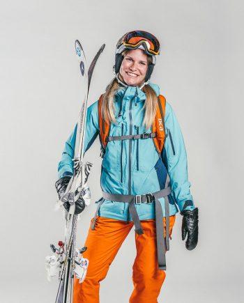 Oxygène Ski & Snowboard School Lady Off-Piste Skier