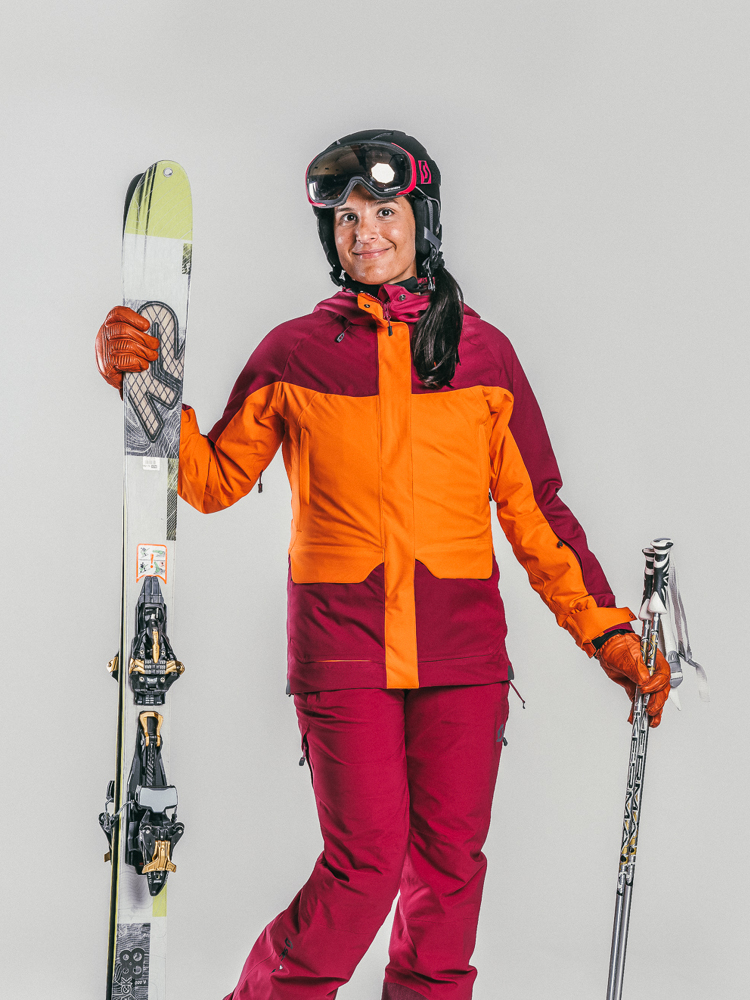 Oxygène Ski & Snowboard School Lady Advanced Skier