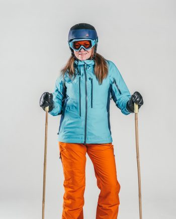 Oxygène Ski & Snowboard School Female Adult with Helmet 2