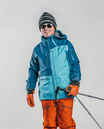Oxygène Ski & Snowboard School Adult with Ski Poles 2