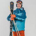 Oxygène Ski & Snowboard School Adult Skiing with Helmet 2