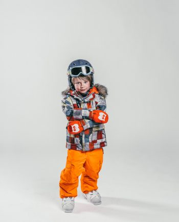 Oxygène Ski & Snowboard School Little Boy Skier