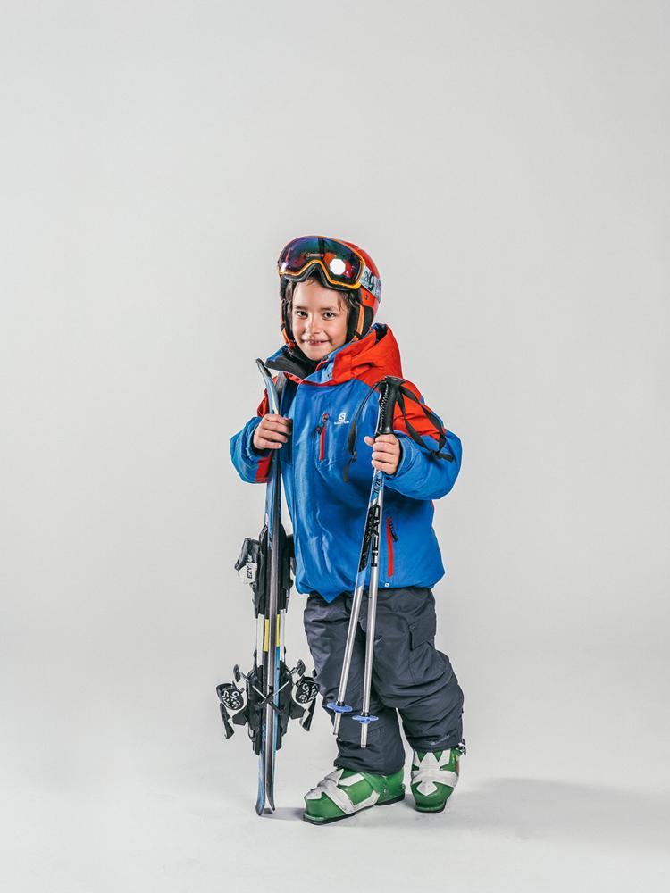 Oxygène Ski & Snowboard School Boy Skier 4
