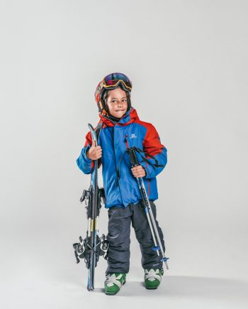 Oxygène Ski & Snowboard School Boy Skier 3