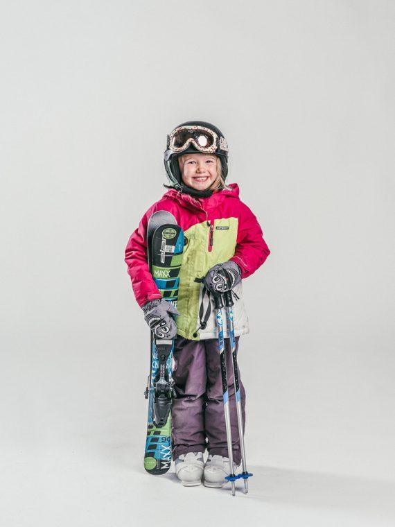 Oxygène Ski & Snowboard School | Girl Skier 2