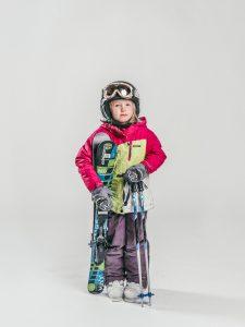 Oxygène Ski & Snowboard School | Girl Skier