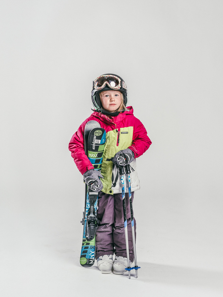 Oxygène Ski & Snowboard School Girl Skier