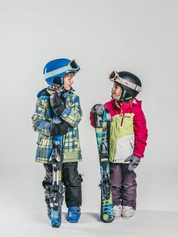 Oxygène Ski & Snowboard School | Boy & Girl Skiers