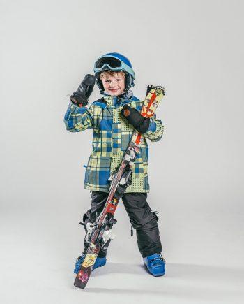 Oxygène Ski & Snowboard School Boy Skier 2