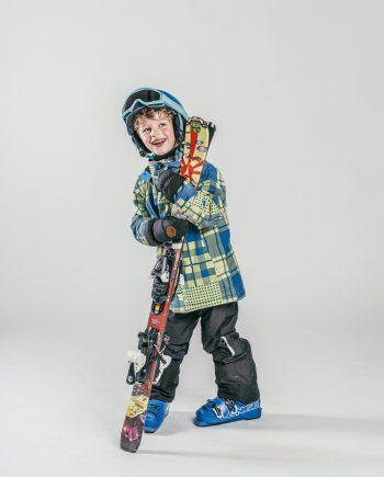 Oxygène Ski & Snowboard School Boy Skier