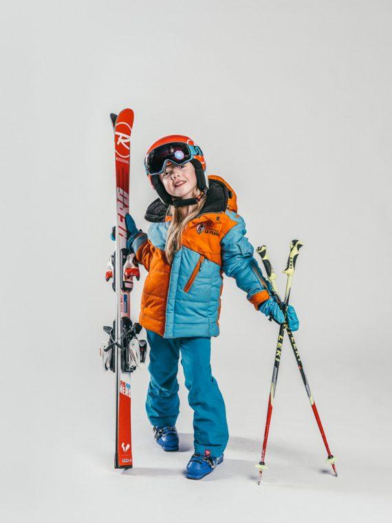 Oxygène Ski & Snowboard School | Girl Pro-Rider Skier 4