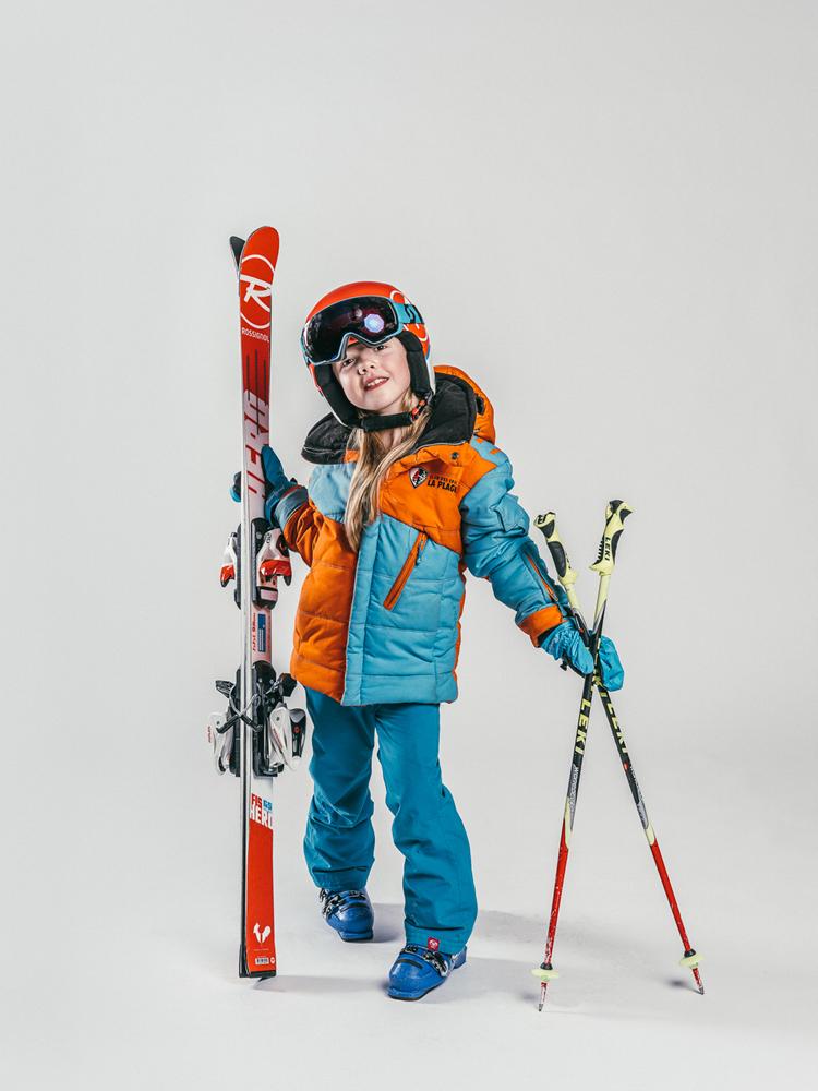 Oxygène Ski & Snowboard School Girl Pro-Rider Skier 4