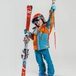 Oxygène Ski & Snowboard School Girl Pro-Rider Skier 3