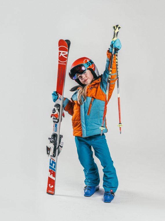Oxygène Ski & Snowboard School | Girl Pro-Rider Skier 3