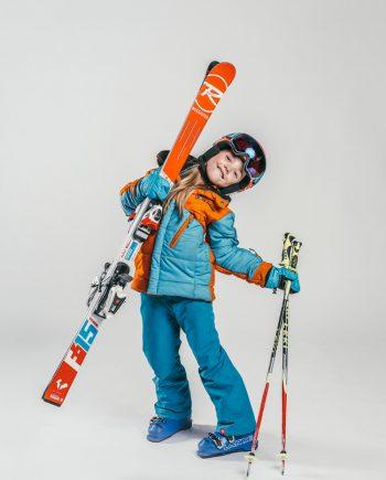 Oxygène Ski & Snowboard School Girl Pro-Rider Skier 2