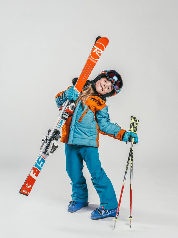 Oxygène Ski & Snowboard School | Girl Pro-Rider Skier 2