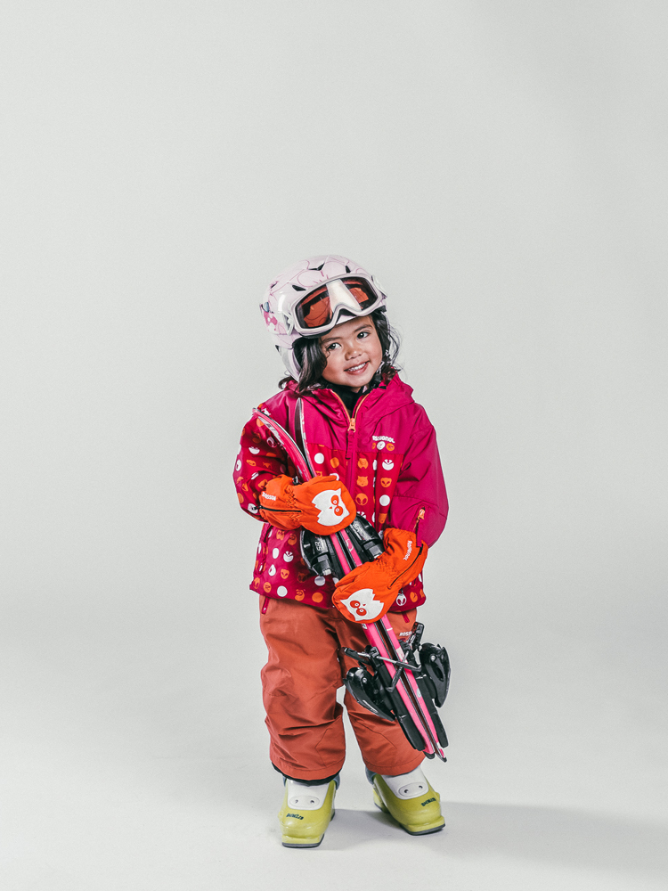 Oxygène Ski & Snowboard School | Little Girl Skier