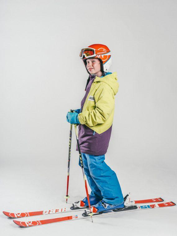 Oxygène Ski & Snowboard School | Boy Pro-Rider Skier 4