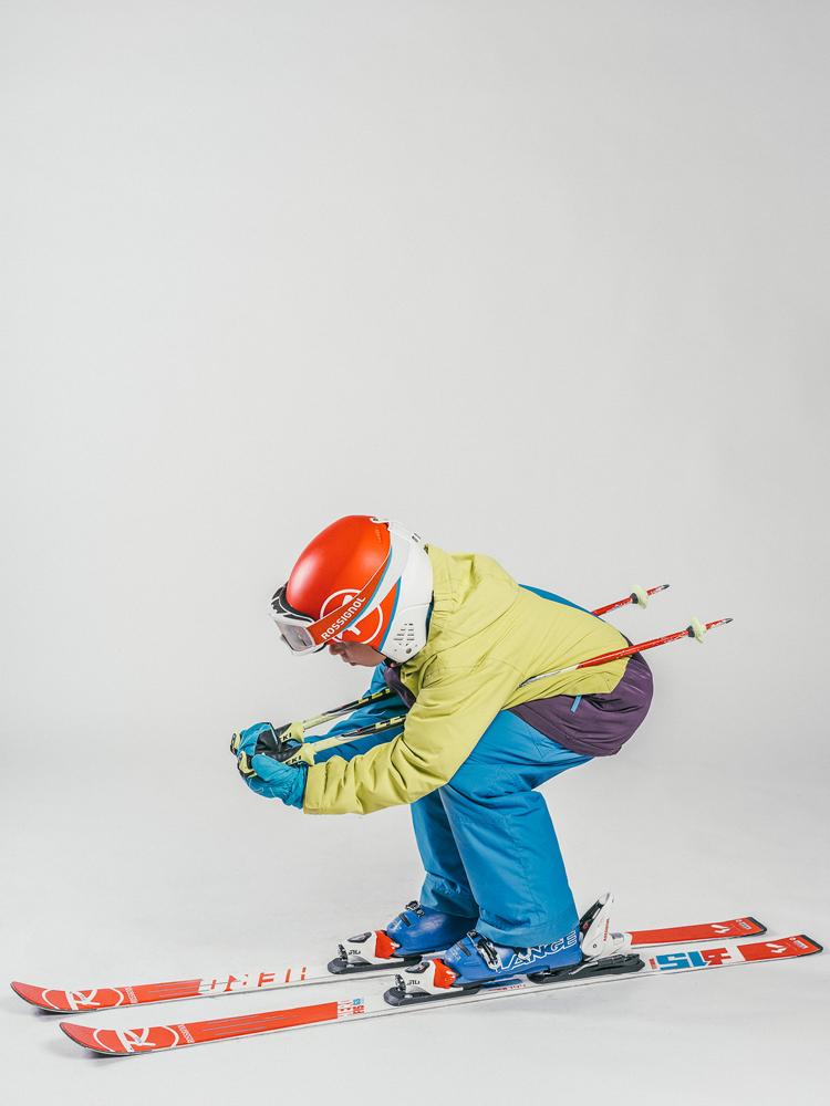Oxygène Ski & Snowboard School Boy Pro-Rider Skier 3