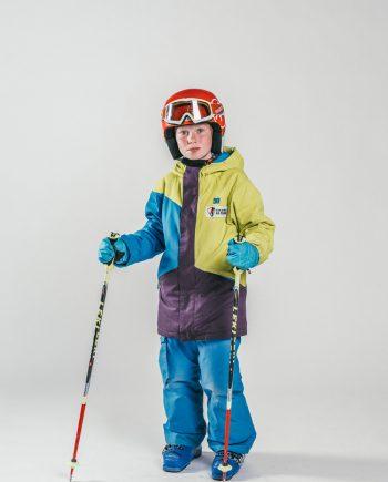 Oxygène Ski & Snowboard School Boy Pro-Rider Skier
