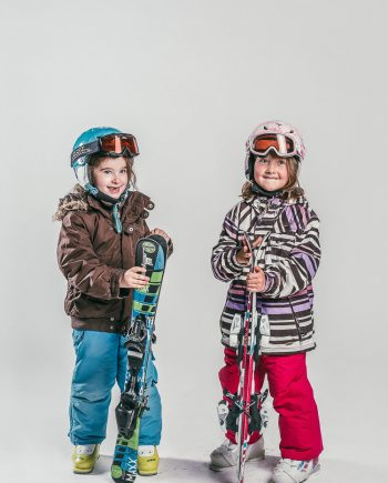 Oxygène Ski & Snowboard School Children Skiers 4