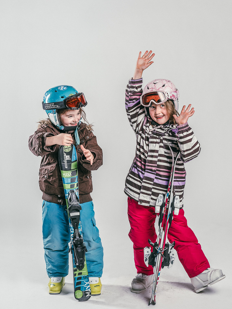 Oxygène Ski & Snowboard School Children Skiers 3