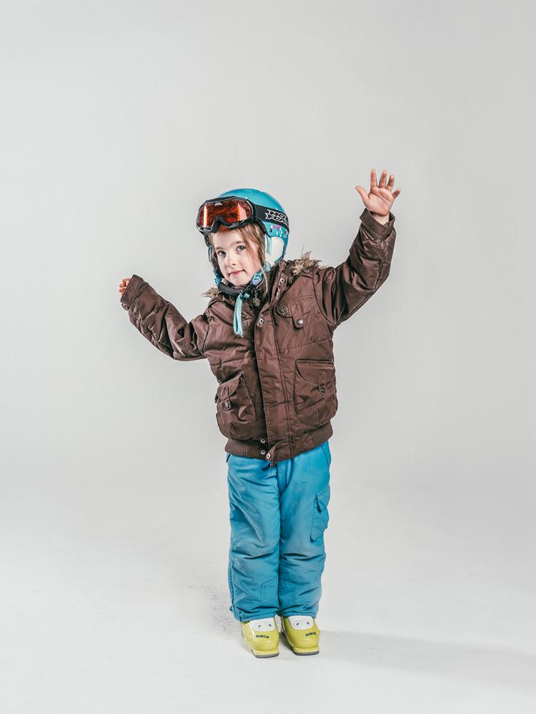 Oxygène Ski & Snowboard School Child Skier 3
