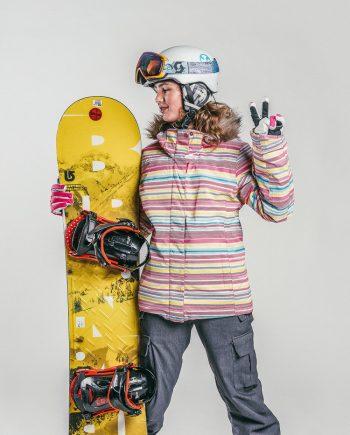 Oxygène Ski & Snowboard School Teenage Snowboarder