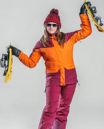 Oxygène Ski & Snowboard School Snowshoe Lady