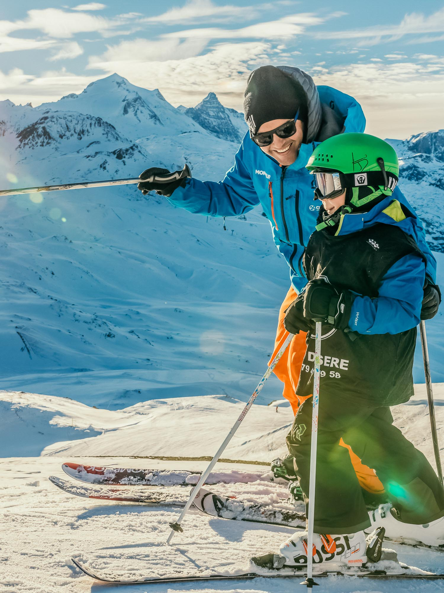 Oxygène Ski & Snowboard School – Children's Gold Lesson