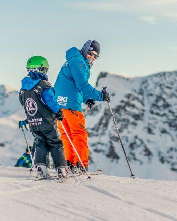 Oxygène Ski & Snowboard School - Children's Ski Lesson