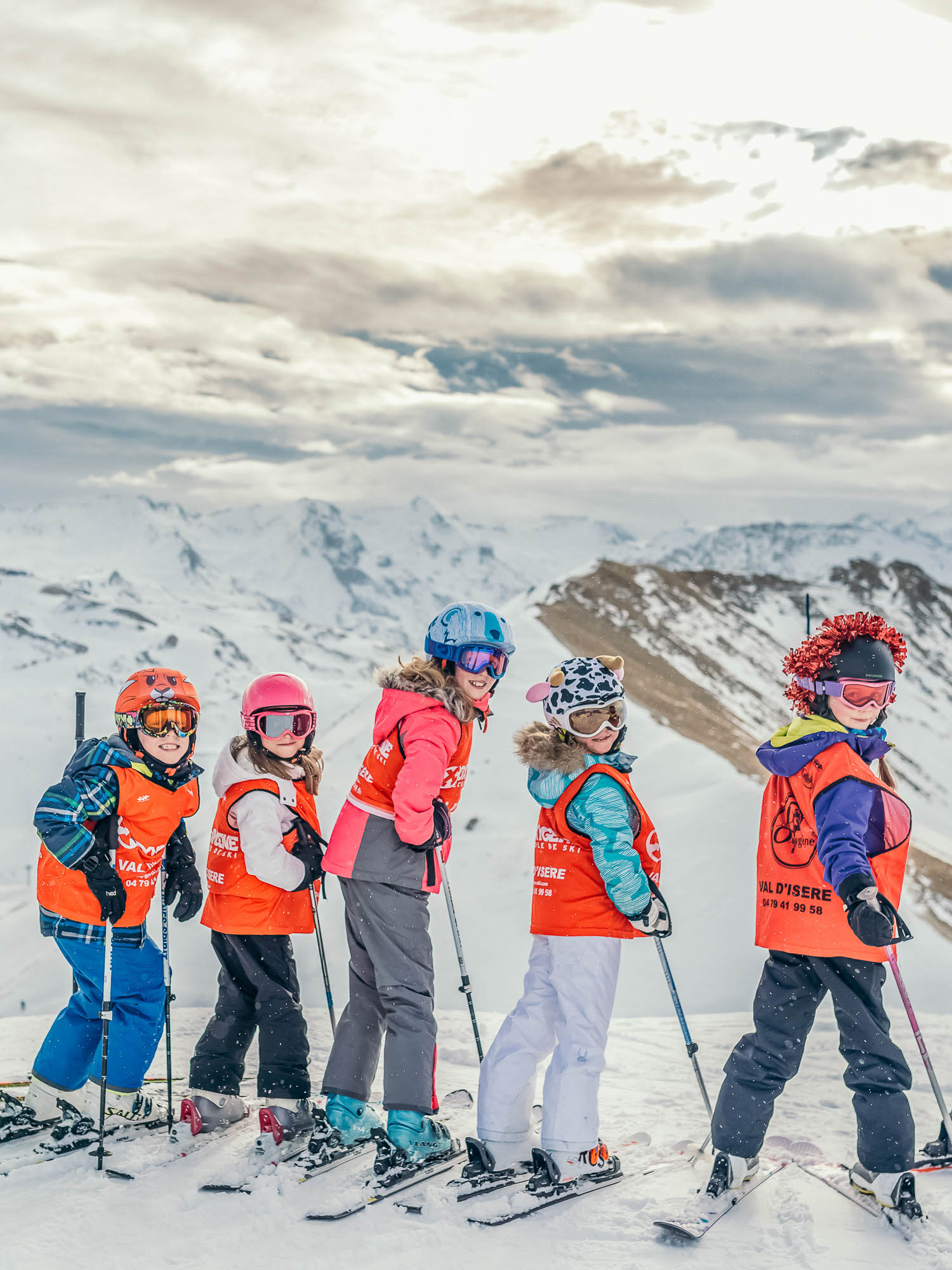 Oxygène Ski & Snowboard School – Children's Group Ski Lesson