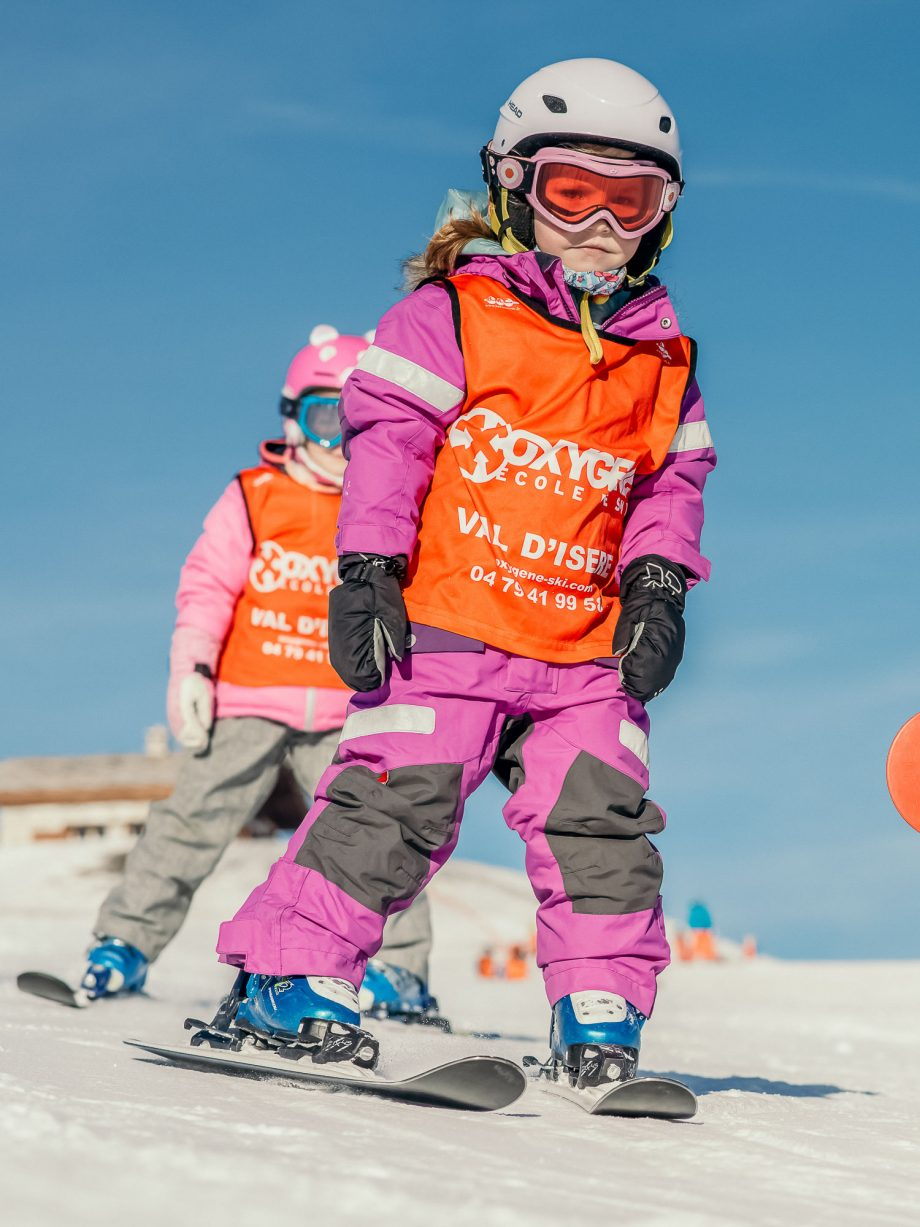Oxygène Ski & Snowboard School Child Snowplough