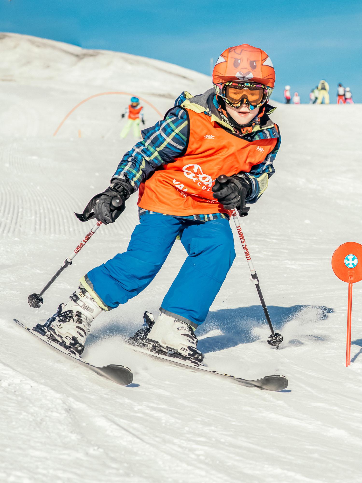 Oxygène Ski & Snowboard School – Child Skiing