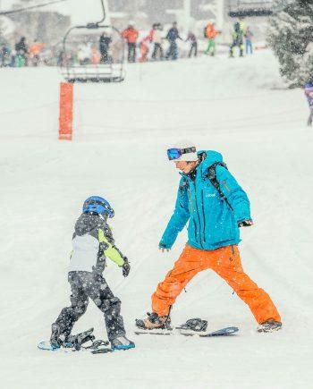 Oxygène Ski & Snowboard School – Snowboard Lesson