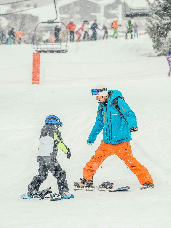 Oxygène Ski & Snowboard School Snowboard Lesson