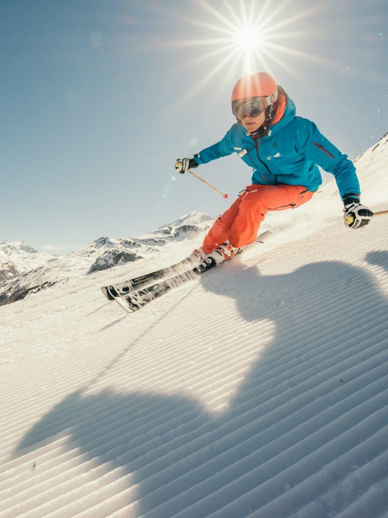Oxygène Ski & Snowboard School – Instructor Skiing