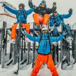 Oxygène Ski & Snowboard School Instructors in Snow