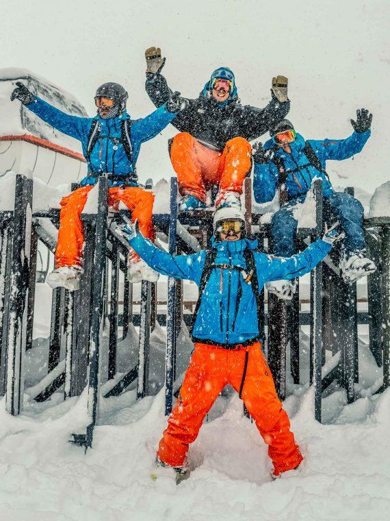 Oxygène Ski & Snowboard School – Instructors in Snow