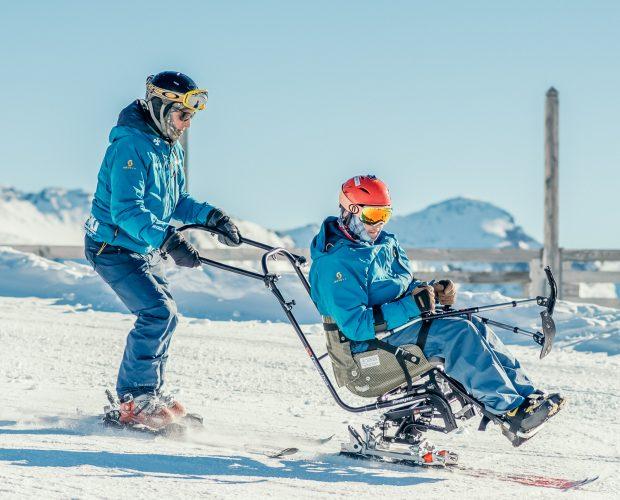 Oxygène Ski & Snowboard School - Dualski Piloted