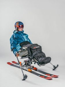 Single sit-ski
