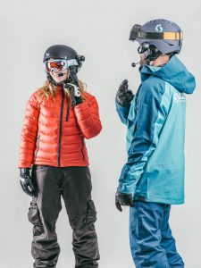 Adaptive stand up skiing