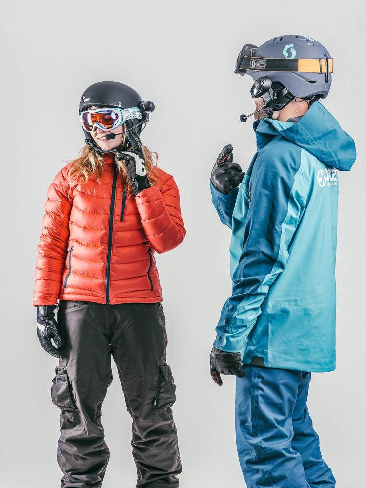 Adaptive stand up skiing