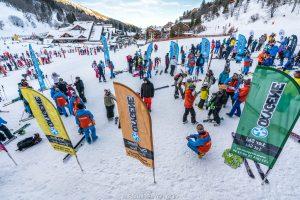 meetint point in chaudanne, meribel, oxygène ski lessons