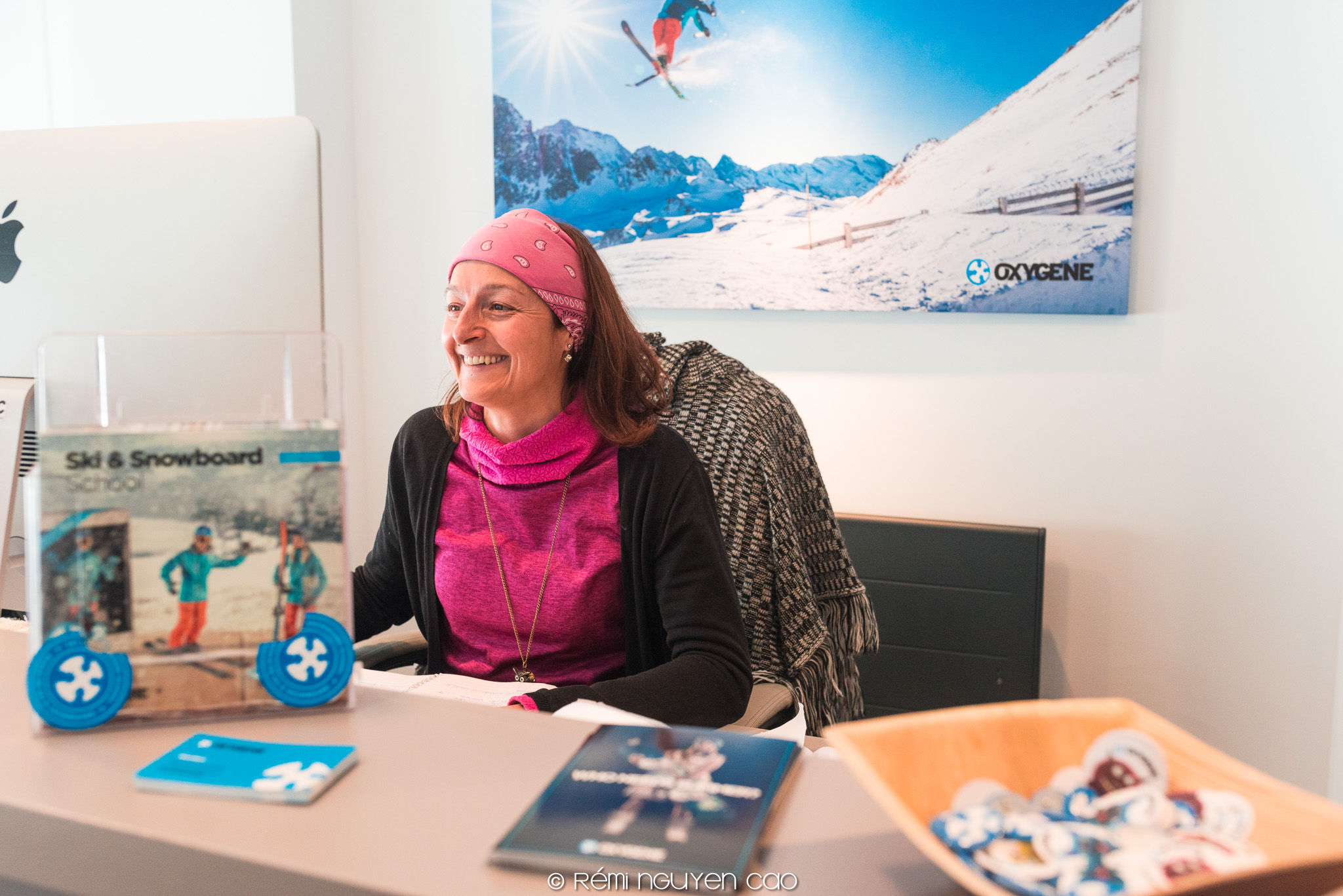 local expert of meribel at oxygène ski school